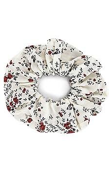 Printed Floral Scrunchie Ganni $25