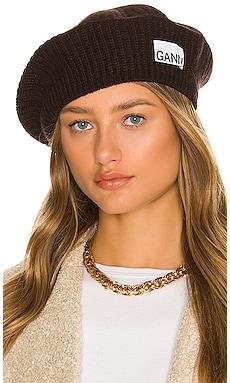ベレー帽 Ganni $65 新作