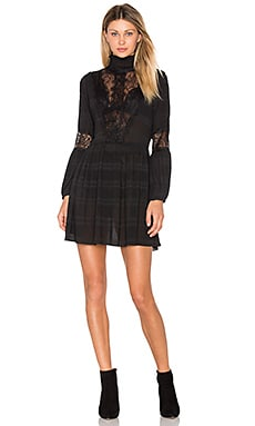 McKinney Pleat Lace Dress