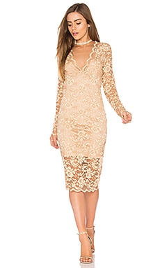 Flynn Lace Dress in Cuban Sand