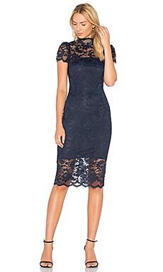 Купить Платье flynn - Ganni синего цвета