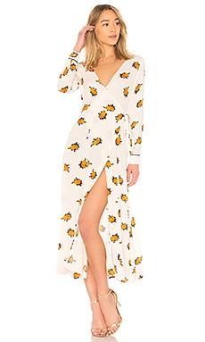Roseburg Crepe Dress Ganni $163