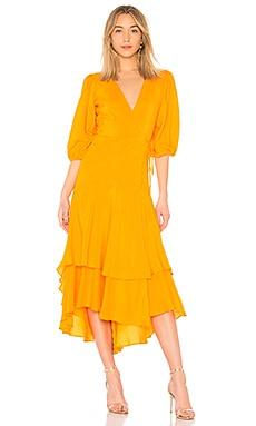 Wilkie Seersucker Dress Ganni $473