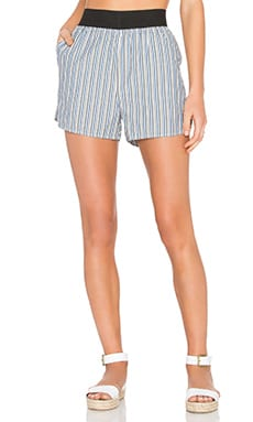 Ganni Short in Verona Stripes