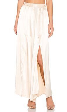 Ganni Loose Pant in Ivory Cream