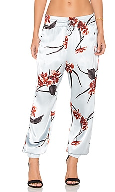 Jogger Pant in Red Orchid