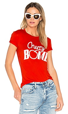 Linfield Cherry T-Shirt en Rouge Ardent