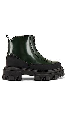 Zipper Boot Ganni $236