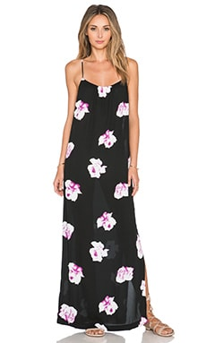 GAT RIMON Mira Maxi Dress in Noir