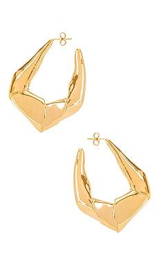 Large Trash Earrings Gaviria $119