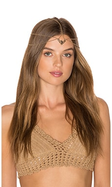 Grace Bijoux Cressida Headpiece in Gold