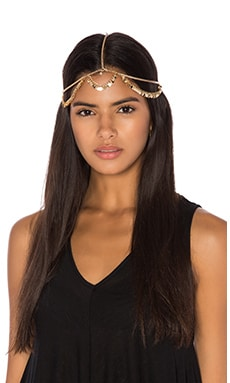 Grace Bijoux Laura Headpiece in Gold