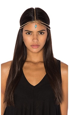 Neela Gold Headpiece