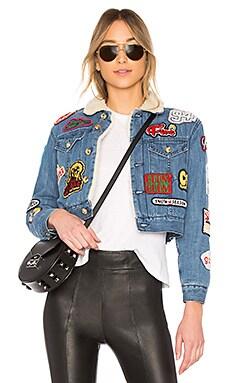 Patch Denim Jacket GCDS $209
