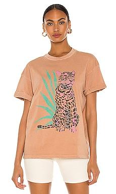 Leopard Boyfriend Tee Girl Dangerous $40