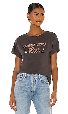 Care Way Less Tee Girl Dangerous $14 (FINAL SALE)