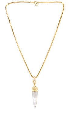 Clear Crystal Necklace GOLDMINE $168 NEW