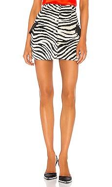 Zebra Skirt GIUSEPPE DI MORABITO $275