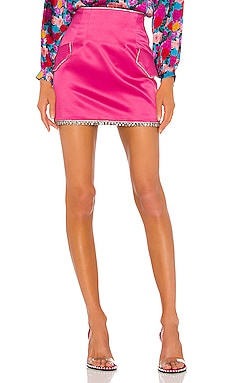 Silk Mini Skirt GIUSEPPE DI MORABITO $398