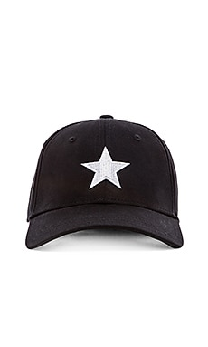 Lone Star Cap in Black White