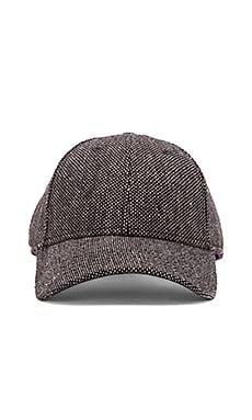 Gents Co. Luxe Tim Tweed Hat in Black Grey