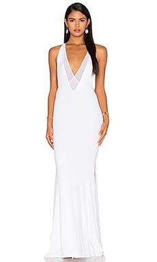Dupeyroux Jersey Gown in White