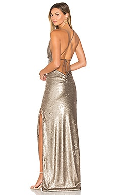 Fishscale Dupey Gown in Bronze