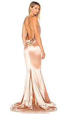 Атласное вечернее платье barthelemy - Gemeli Power