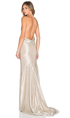 Gemeli Power Ms Jasper Gown in Silver