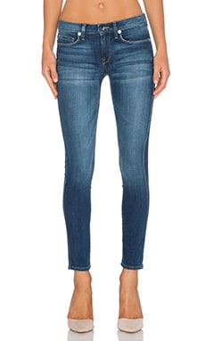 Genetic Denim Daphne Mid Rise Crop in Orion