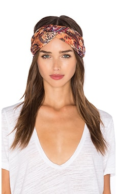 Penny Headband in Camel & Multi