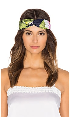Genie by Eugenia Kim Penny Headband in Navy & White