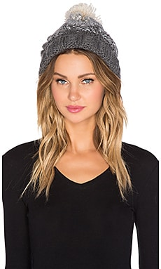 Genie by Eugenia Kim Brady Beanie in Cream & Grey