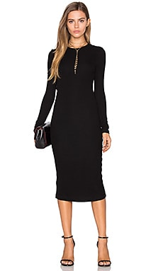 GETTINGBACKTOSQUAREONE The Sweater Dress in Black