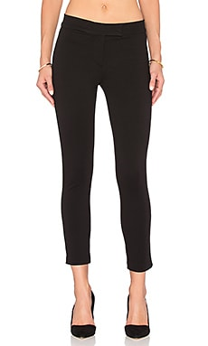 GETTINGBACKTOSQUAREONE Classic Straight Pant in Black