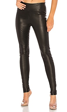 Iconic Leather Legging