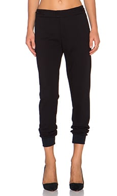 GETTINGBACKTOSQUAREONE Hybrid Pant in Black