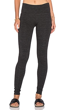 GETTINGBACKTOSQUAREONE Iconic Legging in Melange Grey