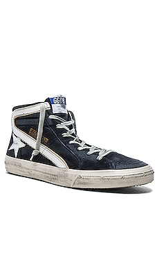 Suede Slide Sneakers Golden Goose $495