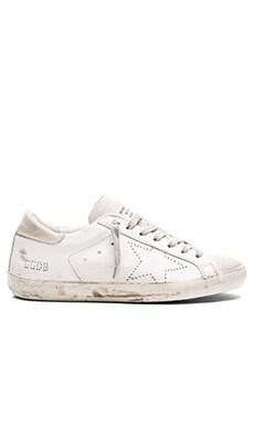 Superstar Sneakers in White Skate