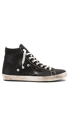 Golden Goose Francy Sneakers in Black Canvas