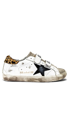 BASKETS AVEC AUTO-AGRIPPANT OLD SCHOOL Golden Goose $530