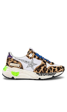 Running Sole Calf Hair Sneaker Golden Goose $605