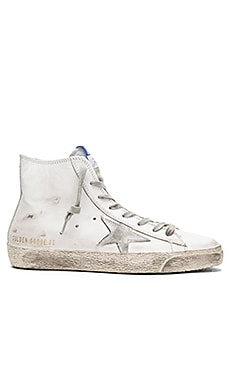 Francy Sneaker in White Silver Leather