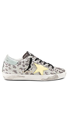Superstar Sneaker in Glitter Leopard