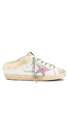 Superstar Sabot Shearling Sneaker Golden Goose $665