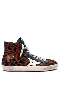 Francy Cow Fur Sneaker Golden Goose $339 Collections
