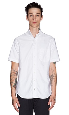 Gitman Vintage Oxford Button Down in White