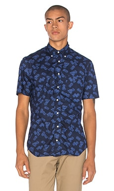 Gitman Vintage S/S Button Down in Navy