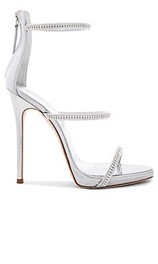Coline Heel in Silver